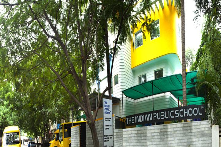 The Indian Public School-School Front View