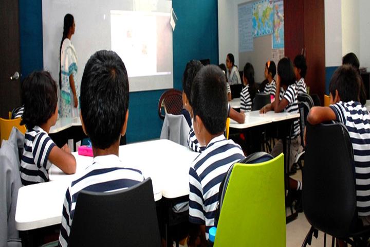 The Indian Public School-Smart Classroom