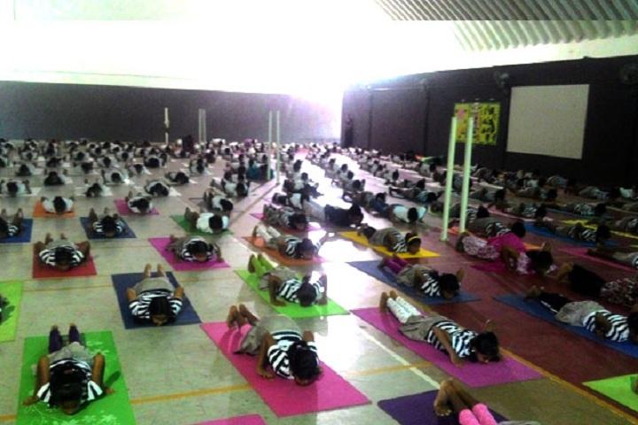 The Indian Public School-Yoga Day