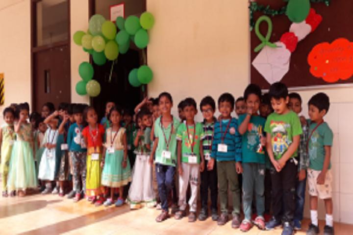 The PSBB Millennium schools- Green colour day