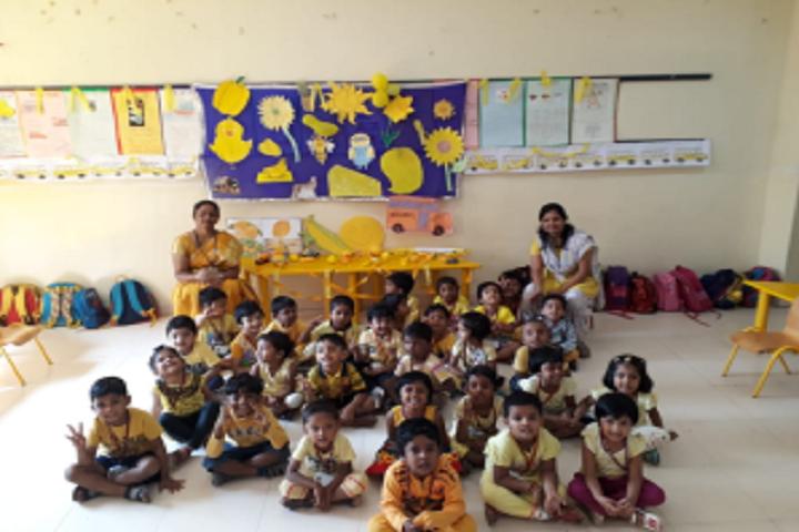The PSBB Millennium schools- yellow colour day