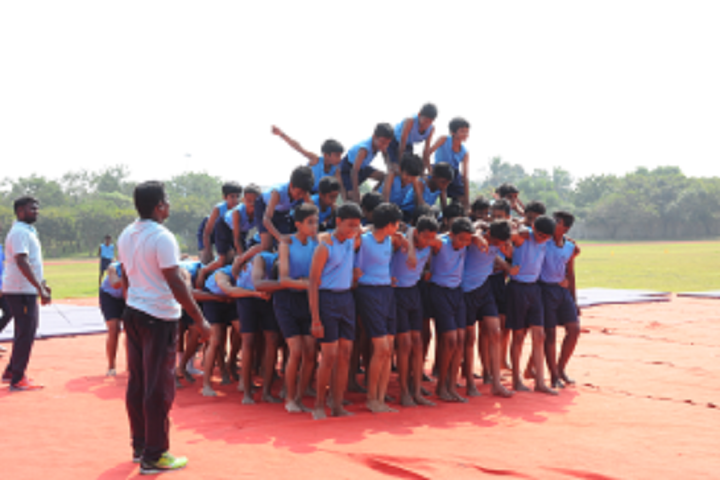 The PSBB Millennium schools-Annual sports day