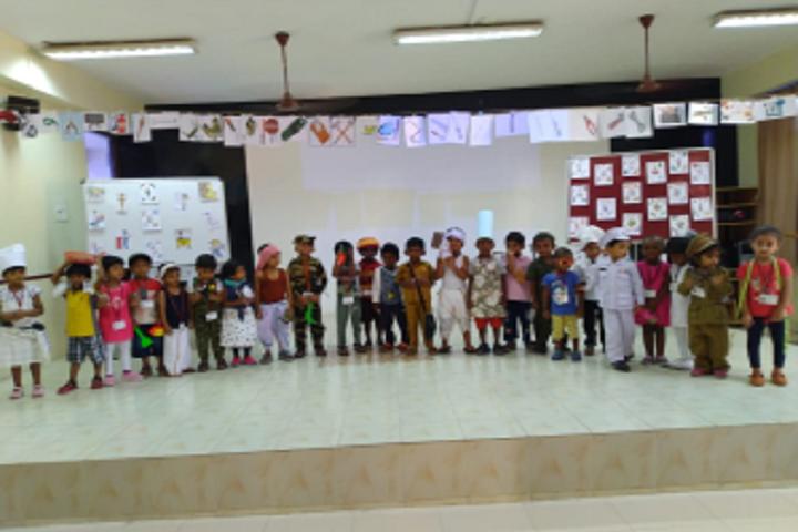 The PSBB Millennium schools-Community Helpers day