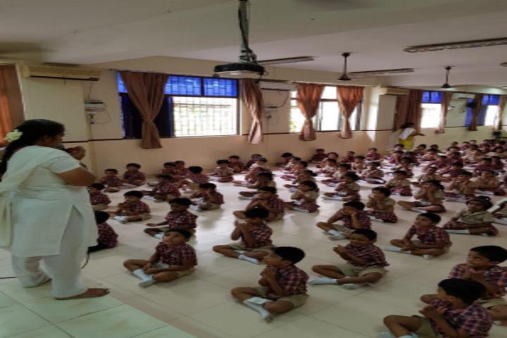 The PSBB Millennium School-Yoga Day