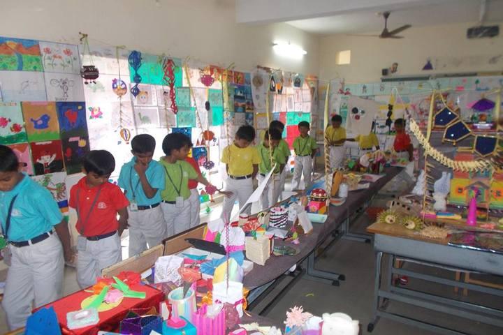 The Vijay Millennium School- Art Exhibition