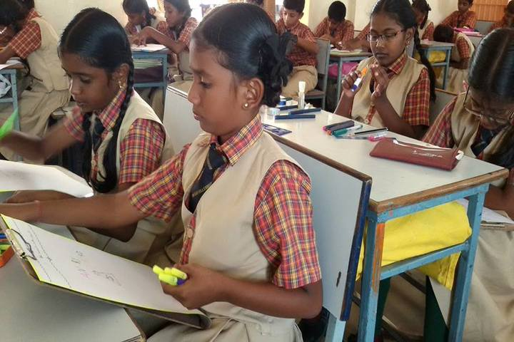The Vijay Millennium School- Classrooms
