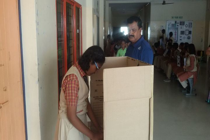 The Vijay Millennium School- Election