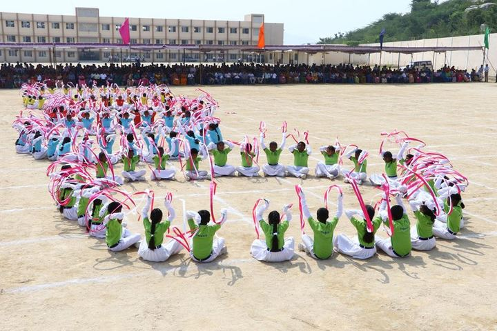 The Vijay Millennium School- Sports Day
