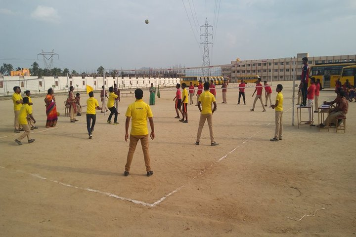 The Vijay Millennium School- Volley Ball
