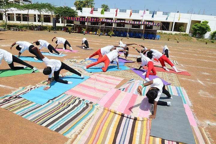 Tiaano Vidyashrm-Yoga Day Celebration