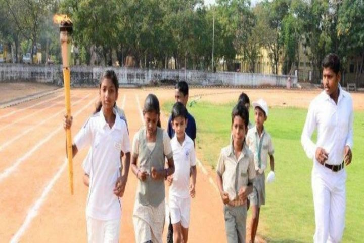 TNPL Public School-Ground