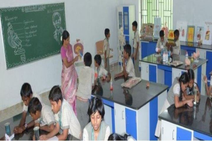 TNPL Public School-Science Lab