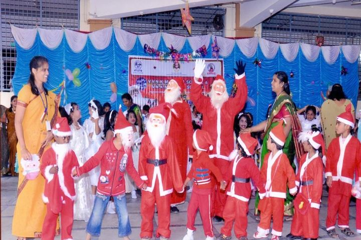 V V N K M English Medium School-Christmas Celebration
