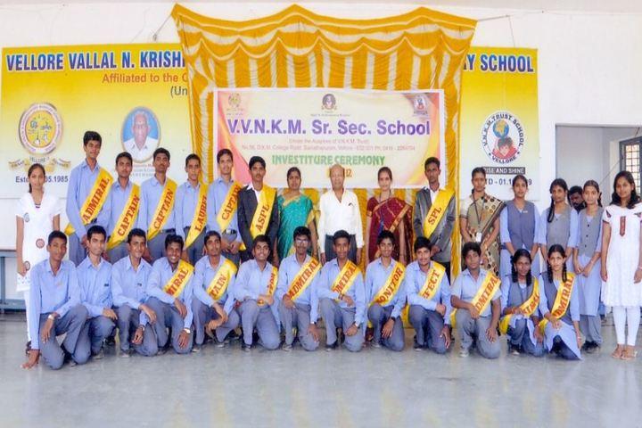 V V N K M English Medium School-Investiture Ceremony