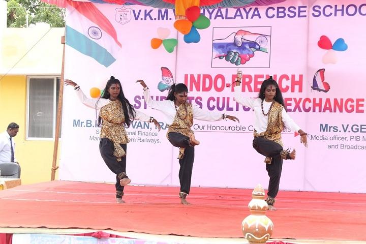 VKM Vidhyalaya School-Indo French Cultural Exchange Programme