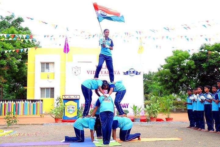 VKM Vidhyalaya School-Independence Day Celebration