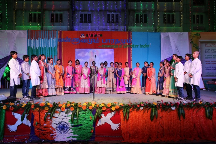 Vailankanni Public School-Group Singing Competition