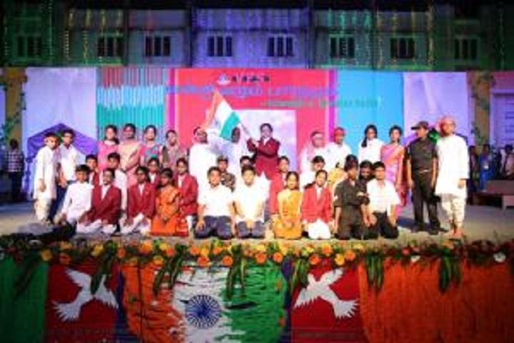 Vailankanni Public School-Independence Day Celebrations