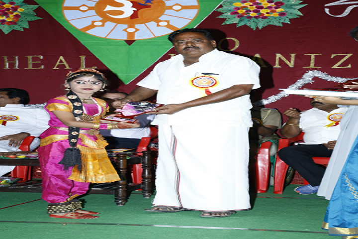 Vanaprastha International School-Prize Distribution