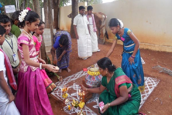Vedavalli Vidyalaya Senior Secondary School-Pongal Celebrations