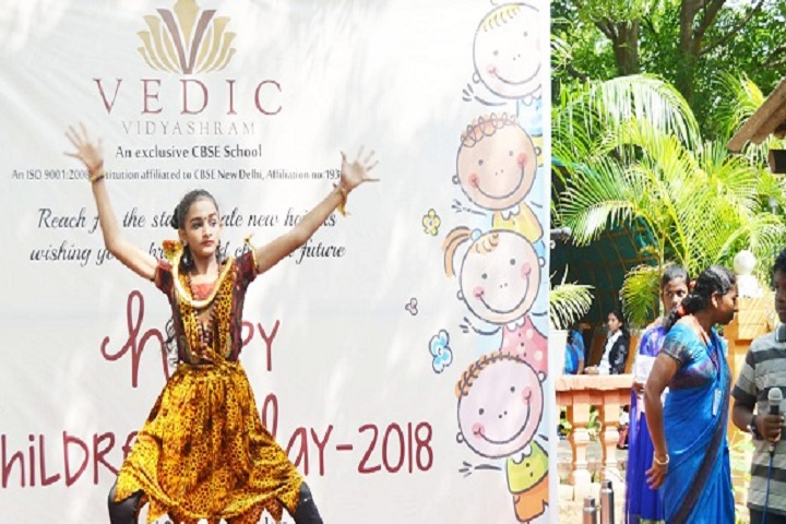 Vedic Vidyashram School-Childrens Day Programme