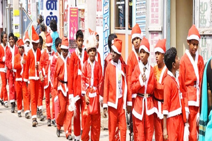 Vedic Vidyashram School-Christmas Day Events