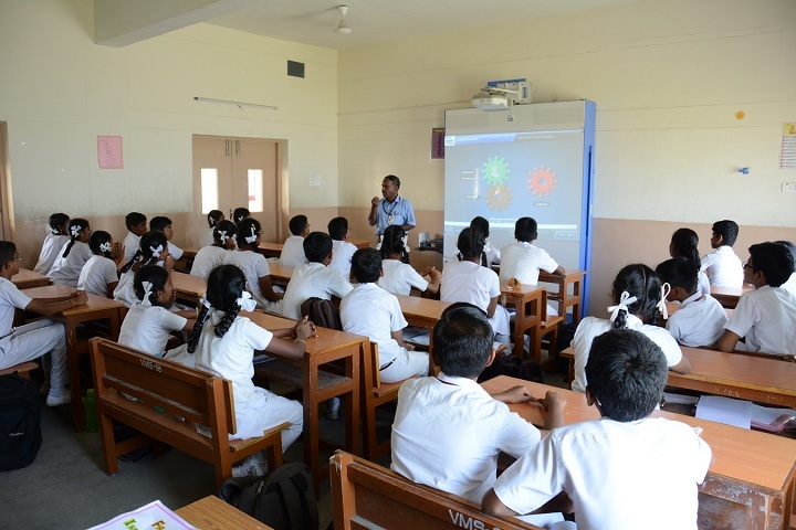 Vidya Mandir School-Well furnished classrooms