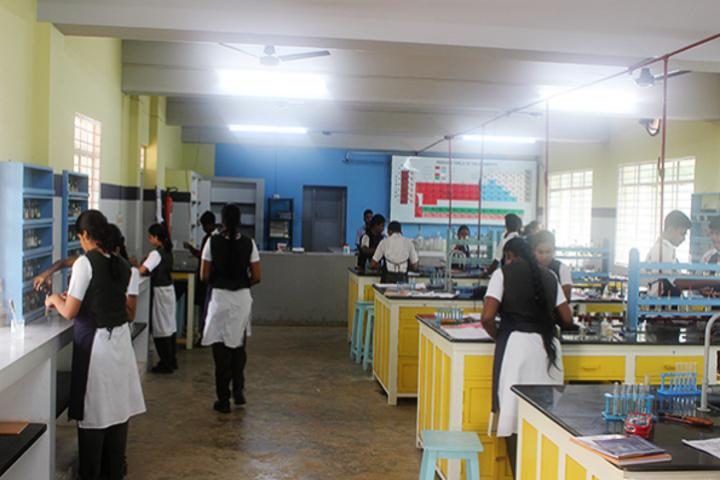 Vidya Mandir School-Chemistry Lab