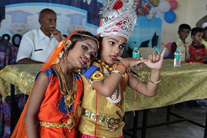 Vivekananda Vision School-Krishnashtmi Celebrations