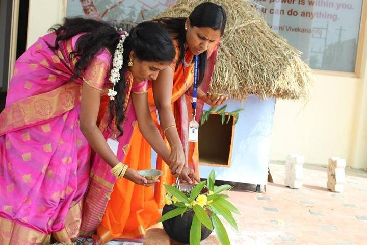 Vivekananda Vision School-Pongal Celebrations