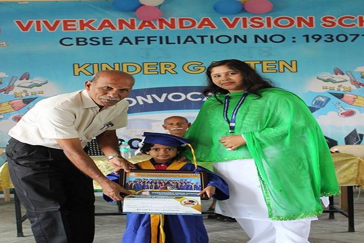 Vivekananda Vision School-Pre-primary Graduation Day