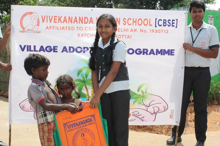 Vivekananda Vision School-Village Adapotation Programme