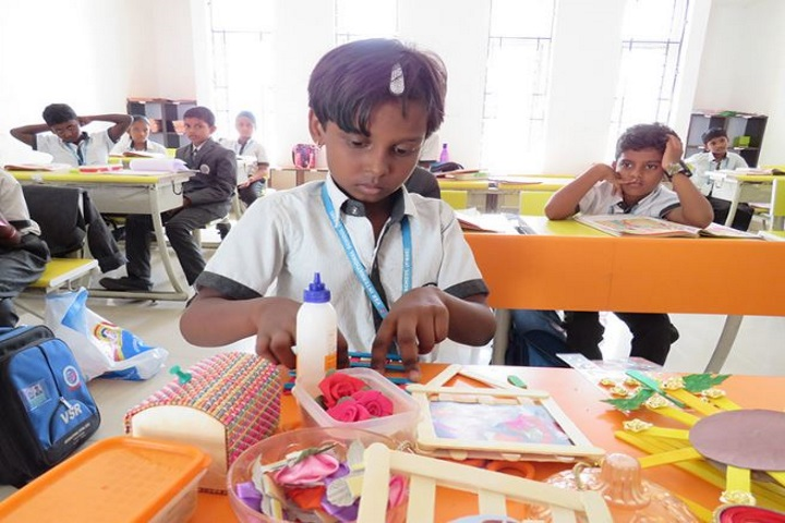 VSR International School-Craft Work