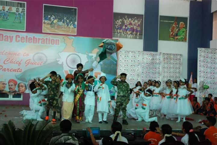 VSR International School-Independence Day Celebrations