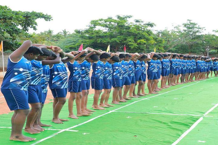 VSR International School-Sports Day
