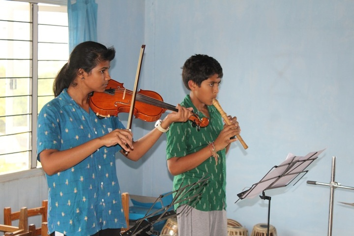 Abhaya School-Music Activity