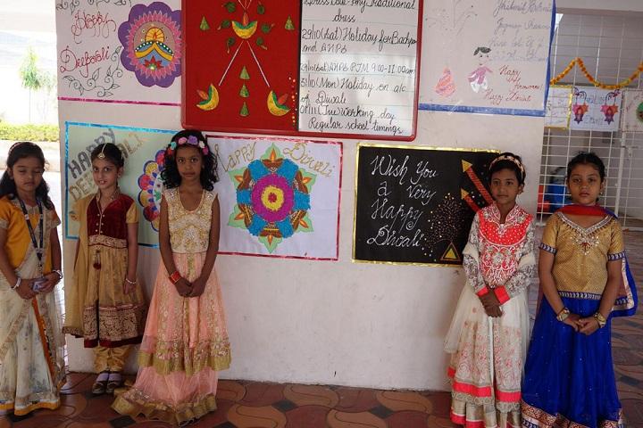 Academic Heights Public School-Diwali Celebrations