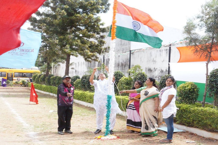 Academic Heights Public School-Independence Day