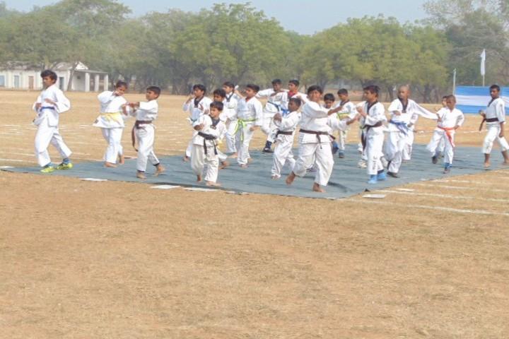 Air Force School-Karate Activity