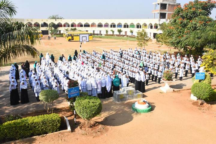 Almas High School-Morning Assembly