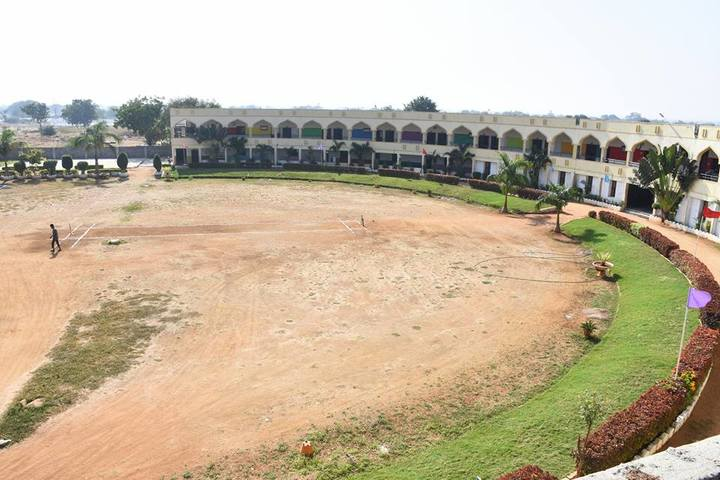 Almas High School-Play Ground