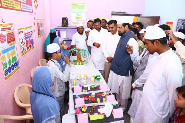 Almas High School-School Exhibition