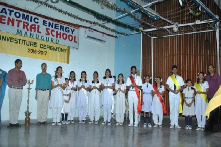 Atomic Energy Central School-Investiture Ceremony