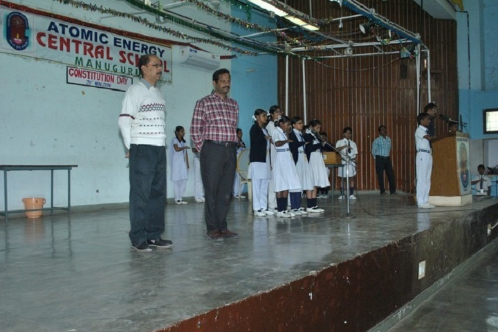 Atomic Energy Central School-Constitution Day