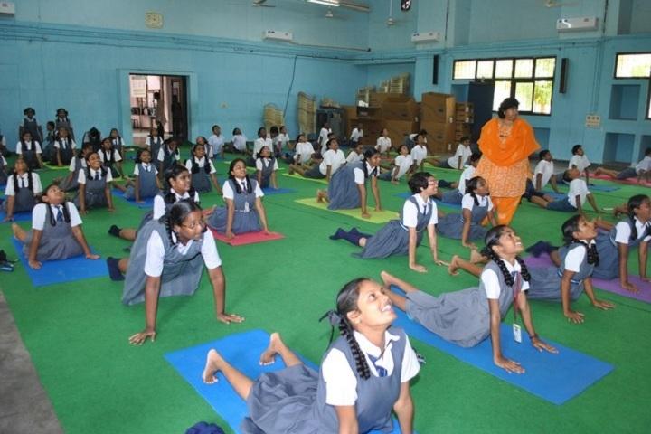 Atomic Energy Central School-Yoga Day