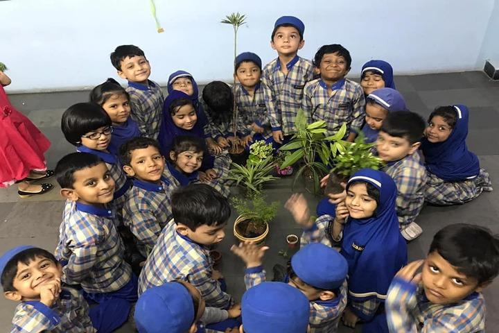 Azaan International School-Tree Plantation