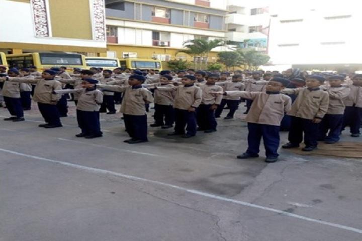 Azaan International School-Assembly