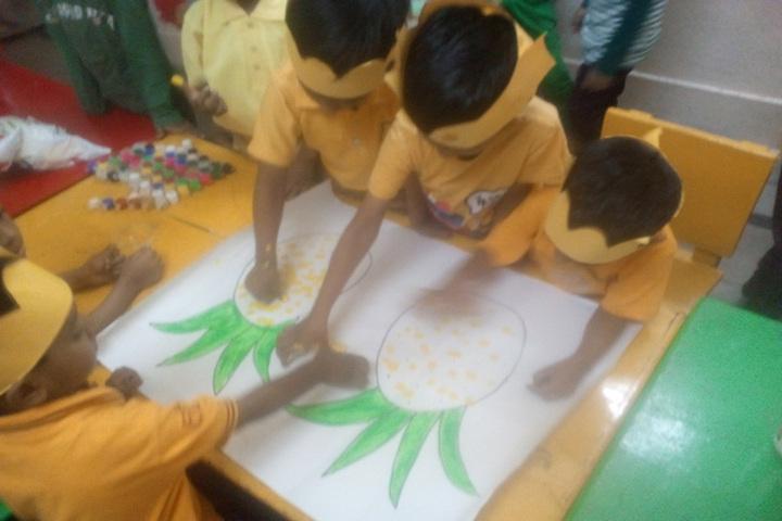 Azra Public School-Drawing Activity
