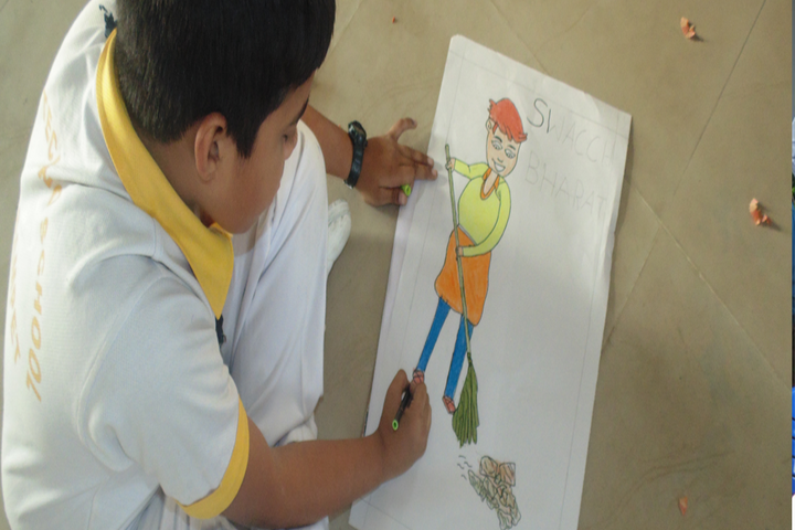 Balaji High School-Drawing Activity