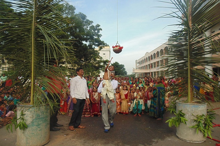 Balaji High School-Krishnastami Celebrations
